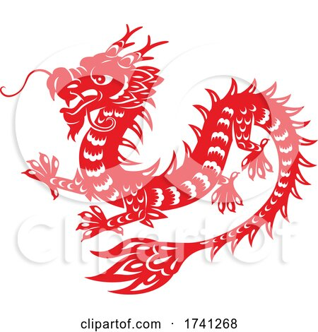 Chinese Dragon by Vector Tradition SM