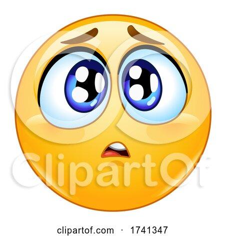 Concerned Yellow Smiley Face Emoji Emoticon by yayayoyo