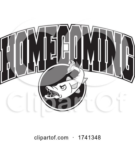 Black and White Barracudas Homecoming Design by Johnny Sajem