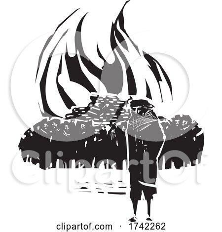 People Burning Books by xunantunich