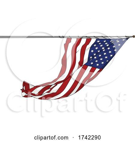 American Flag by dero
