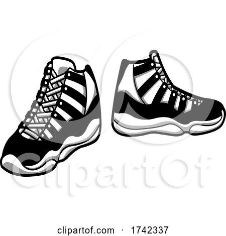 Black Sneakers by Hit Toon