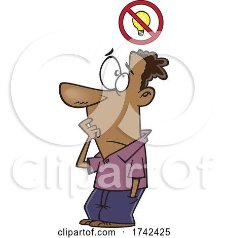 Cartoon Man with a Bad Idea by toonaday