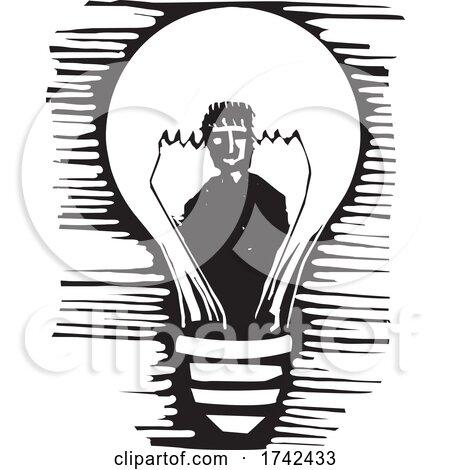 Light Bulb Man by xunantunich