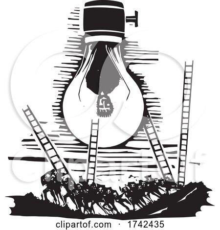 Changing a Burnt out Lightbulb by xunantunich