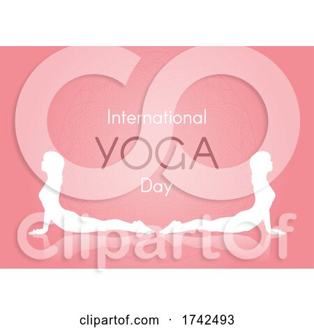 International Day of Yoga Background by KJ Pargeter