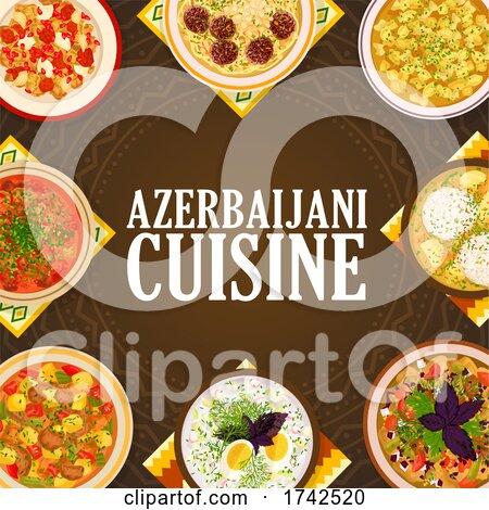 Azerbaijani Cuisine by Vector Tradition SM