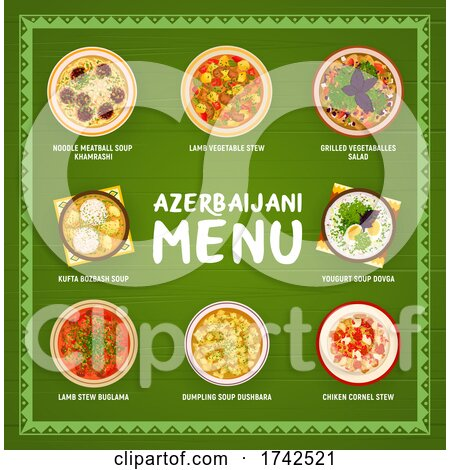 Azerbaijani Food by Vector Tradition SM