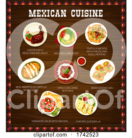 Mexican Cuisine by Vector Tradition SM