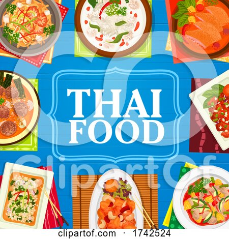 Thai Food by Vector Tradition SM