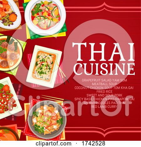 Thai Cuisine by Vector Tradition SM