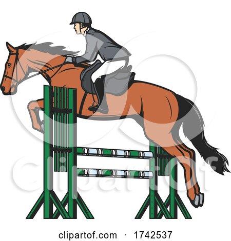 Equestrian Logo by Vector Tradition SM