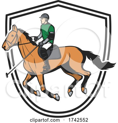 Equestrian Logo by Vector Tradition SM