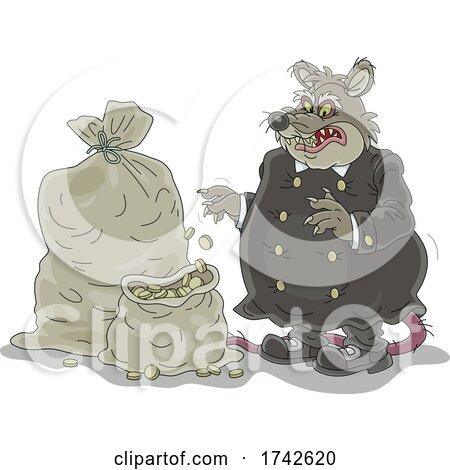 Rat Tax Collector by Alex Bannykh