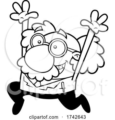 Happy Science Professor Albert Einstein Character by Hit Toon