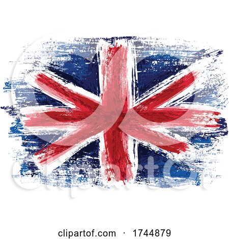 Painted UK Flag by dero