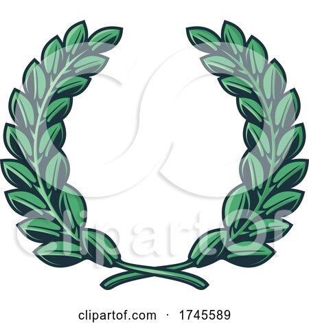 Laurel Wreath by Vector Tradition SM