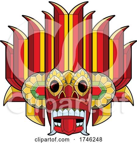 Modern Devil Mask by Lal Perera