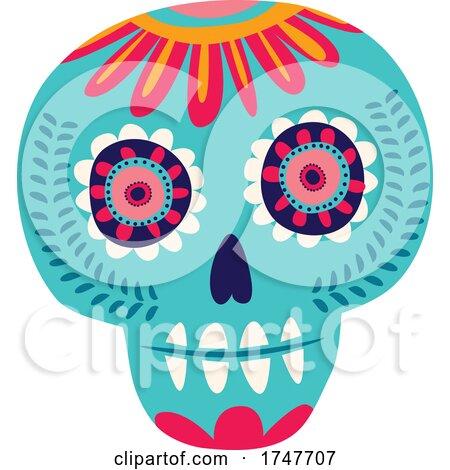 Sugar Skull by Vector Tradition SM