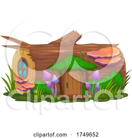 Fairy House by Vector Tradition SM