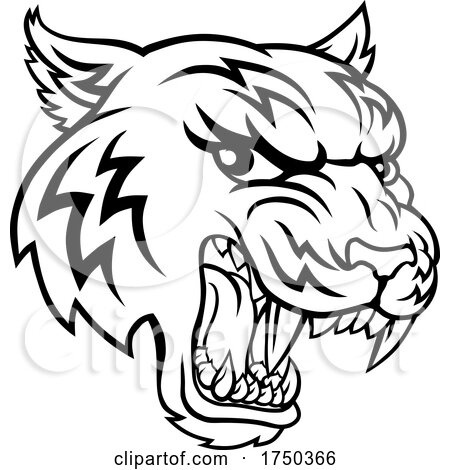 Tiger Animal Cartoon Mascot by AtStockIllustration