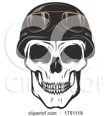 Biker Skull by Vector Tradition SM