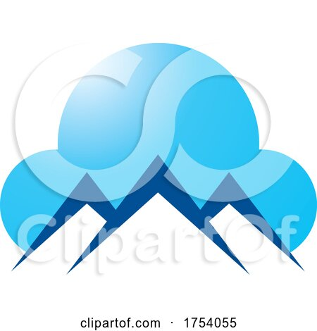 Mountain and Cloud Logo by Lal Perera
