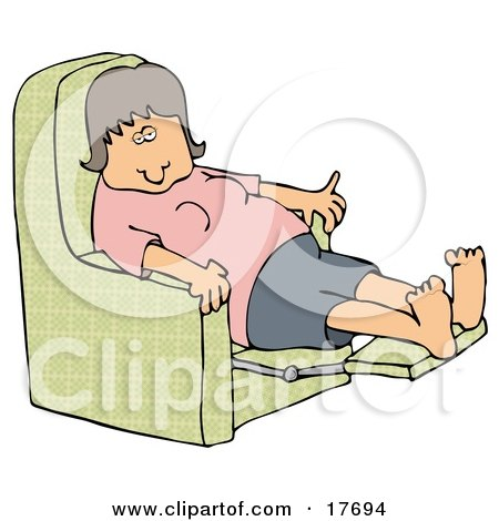 Royalty Free Rf Recliner Chair Clipart Illustrations