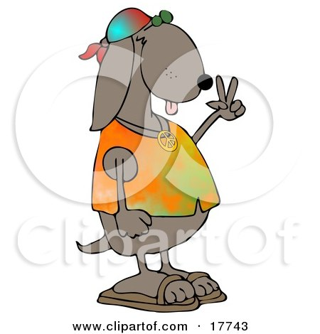 http://images.clipartof.com/small/17743-Cool-Brown-Hippie-Dog-In-A-Tye-Die-Shirt-And-Sandals-And-Flashing-The-Peace-Sign-Gesture-Clipart-Illustration.jpg