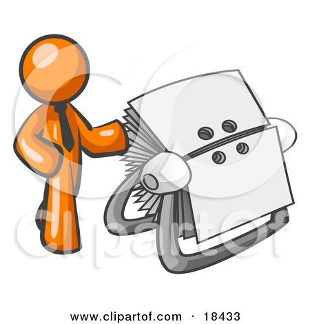 external image 18433-Clipart-Illustration-Of-An-Orange-Businessman-Standing-Beside-A-Rotary-Card-File-With-Blank-Index-Cards.jpg