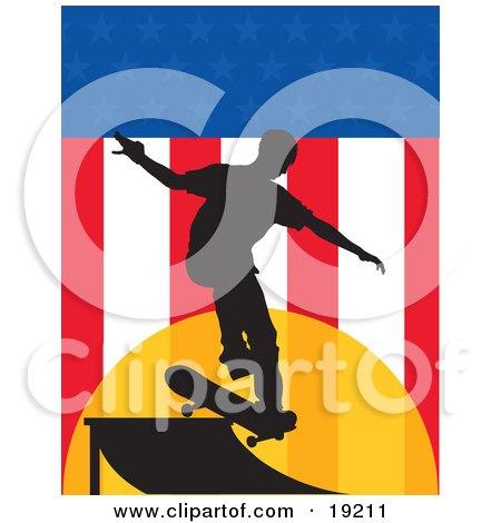 Skateboarder USA Posters, Art Prints