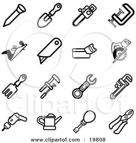 Royalty Free Rf Nail Clipart Illustrations Vector Graphics 1