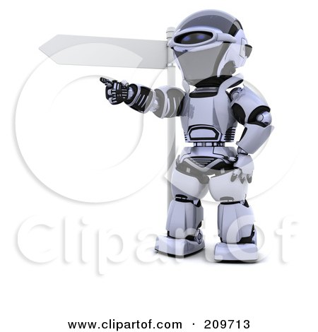 Robot Character Clipart #209713 - Illustration by KJ Pargeter