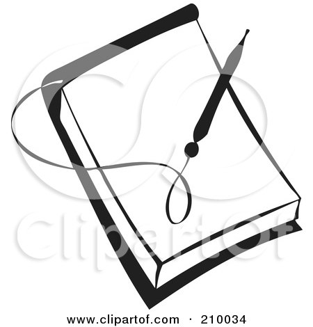 Royalty-Free (RF) Notepad Clipart, Illustrations, Vector Graphics #1