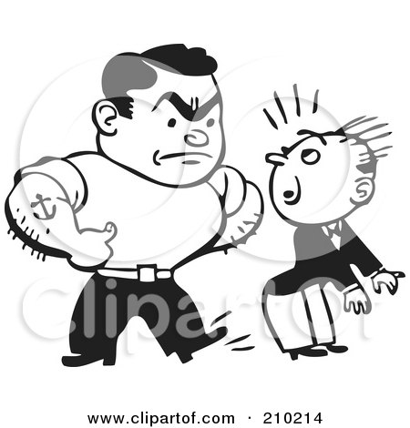 Royalty Free Rf Clipart Of Bullies Illustrations Vector Graphics 1