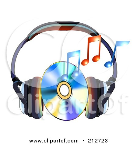 Cd Music Clipart