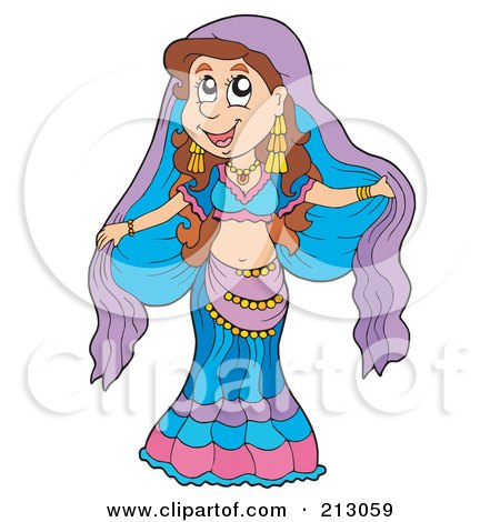Royalty-Free (RF) Belly Dance Clipart, Illustrations, Vector ...