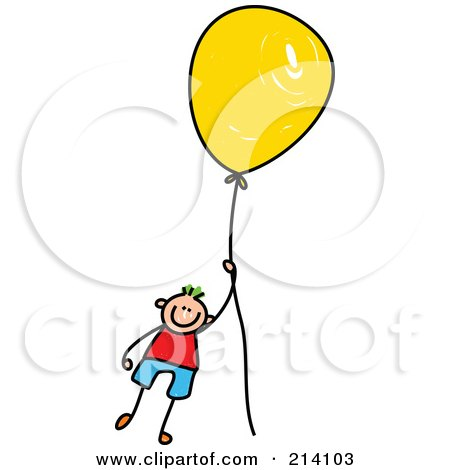 ... -Of-A-Childs-Sketch-Of-A-Boy-Floating-Away-With-A-Balloon.jpg