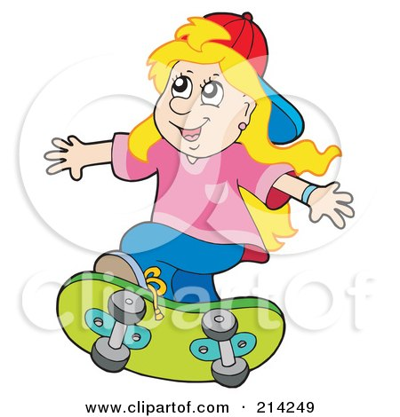 Rf clipart illustration of women playing tennis and weight lifting