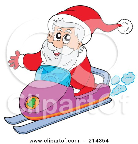 Royalty-Free (RF) Snowmobile Clipart, Illustrations, Vector ...