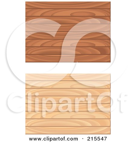 Royalty-Free (RF) Clipart Illustration of a Digital Collage Of Two Wooden Floor Patterns by Cory Thoman