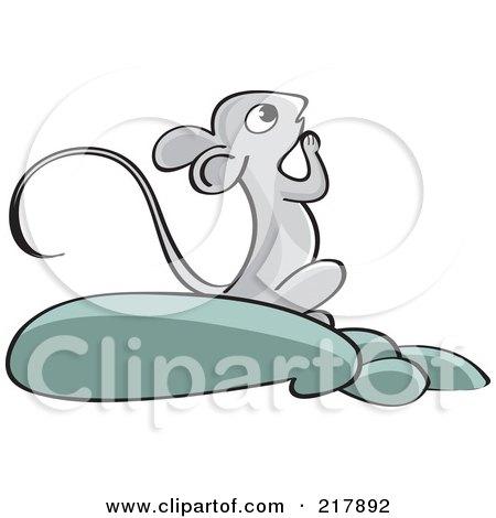 Praying Mouse Posters, Art Prints