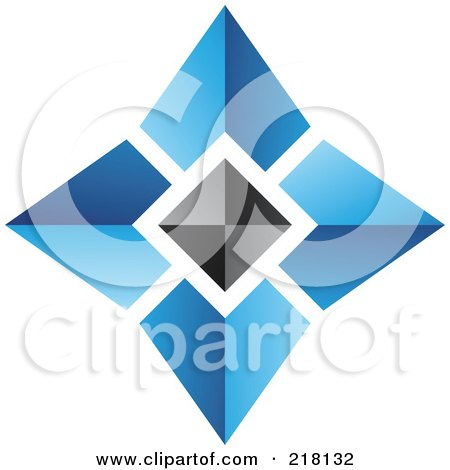 Blue Pyramid Logo Black Pyramid Logo Icon