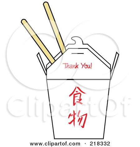 Royalty Free Chinese Food Illustrations By Pams Clipart Page 1