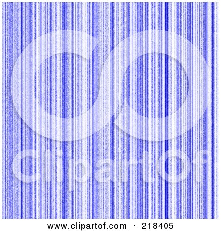 Royalty-Free (RF) Clipart Illustration of a Blue Vertical Matrix Background by oboy