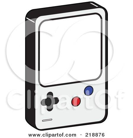 Nintendo Gameboy Clip Art
