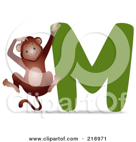 clipart hind view of a sitting monkey royalty free vector illustration by bnp design studio Monkey in Diaper Clip Art Bad Monkey Clip Art