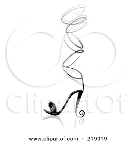 Royalty Free Rf Clipart Illustration Of A Logo Design Of A Shiny
