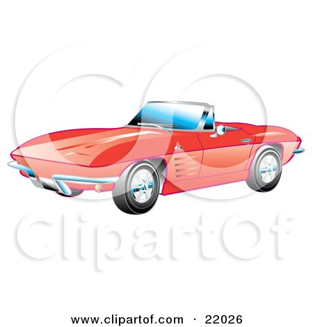 Corvette Stingray History on Corvette Stingray Clipart By Markus