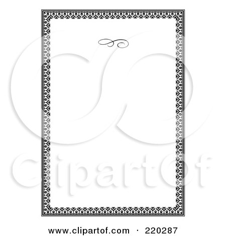 Royalty free rf clipart illustration of a formal floral royalty free rf clipart illustration of a formal floral invitation border with copyspace 11 by bestvector stopboris Choice Image